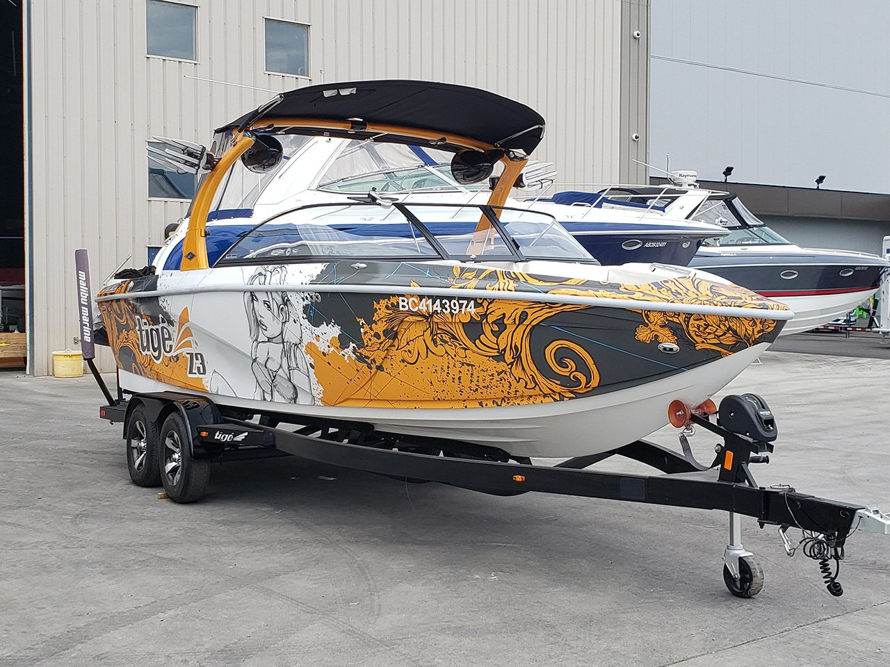 2013 Tige Z3 Boat For sale by Malibu Marine in Kelowna, BC